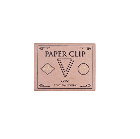 Triangle Brass Paper Clips