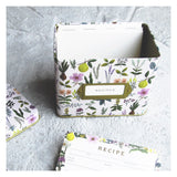 Herb Garden Recipe Box