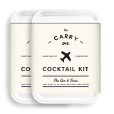 Carry on Cocktail Kit- Gin & Tonic