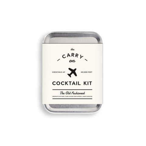 Carry on Cocktail Kit- The Old Fashioned