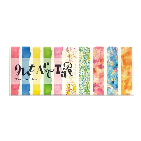 Watercolor Art Tape Set