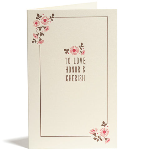 Hana Wedding Card