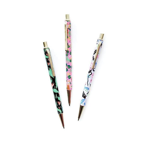Whimsical Floral Mechanical Pencils