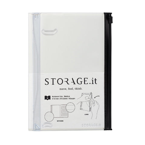 White Storage Notebook