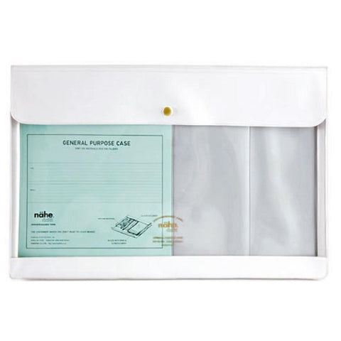 White Document Case