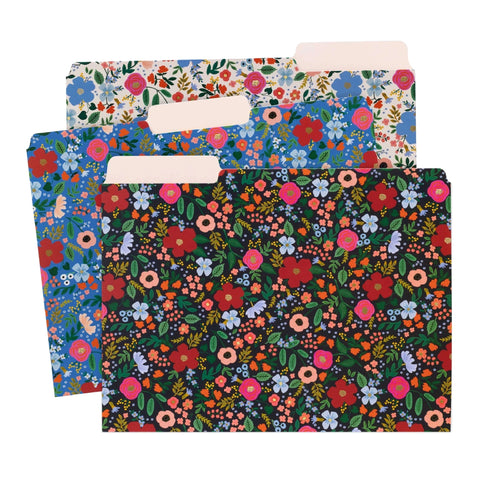 Wild Rose File Folder Set