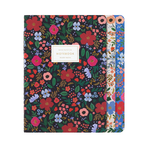 Wild Rose Notebook Set