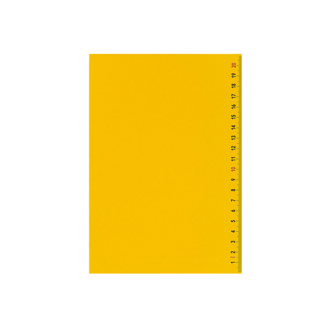 Yellow Scale Notebook