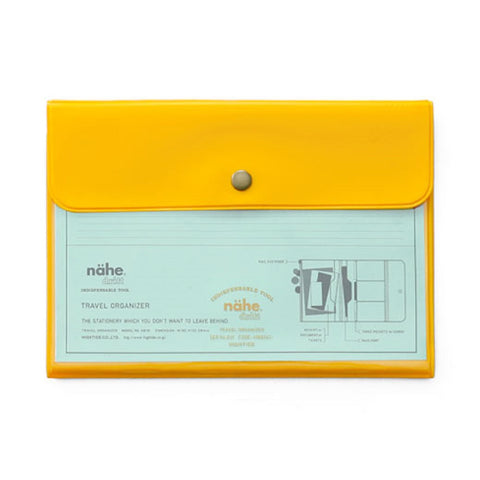Yellow Travel Organizer
