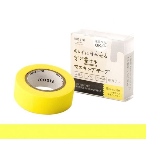 Yellow Write-On Tape