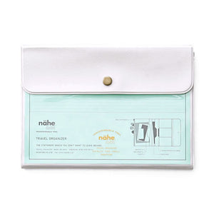 White Travel Organizer