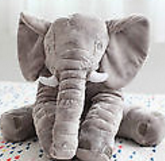 Elephant Trunk Hug Baby Pillow