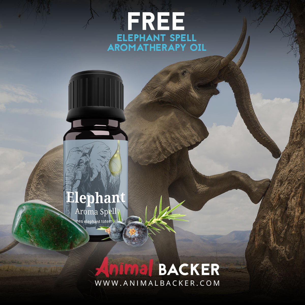 FREE ELEPHANT SPELL AROMATHERAPY OIL