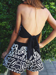 Trendy Tribal Elephant Tank & Shorts Set