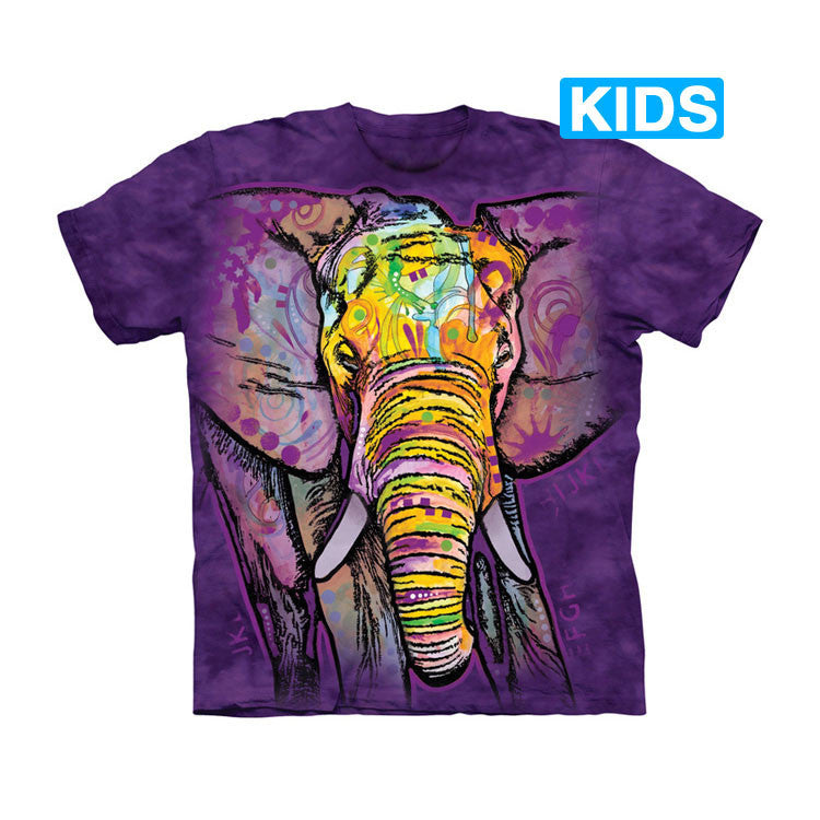 Watercolor Elephant Kids T-Shirt