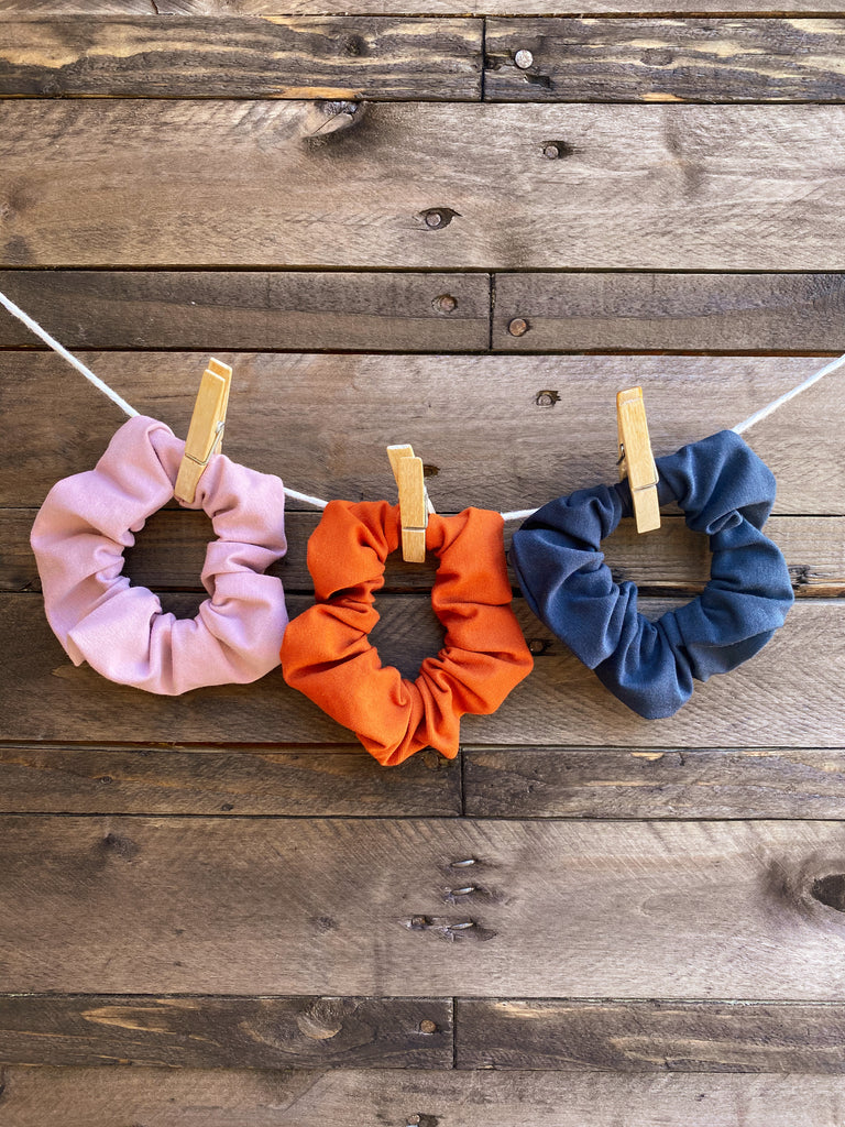 Scrunchie - Organic Cotton Jersey (Colour and Pack Options)
