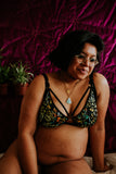 Artio Standard Bra - Dark Flora (nursing and undies options available)