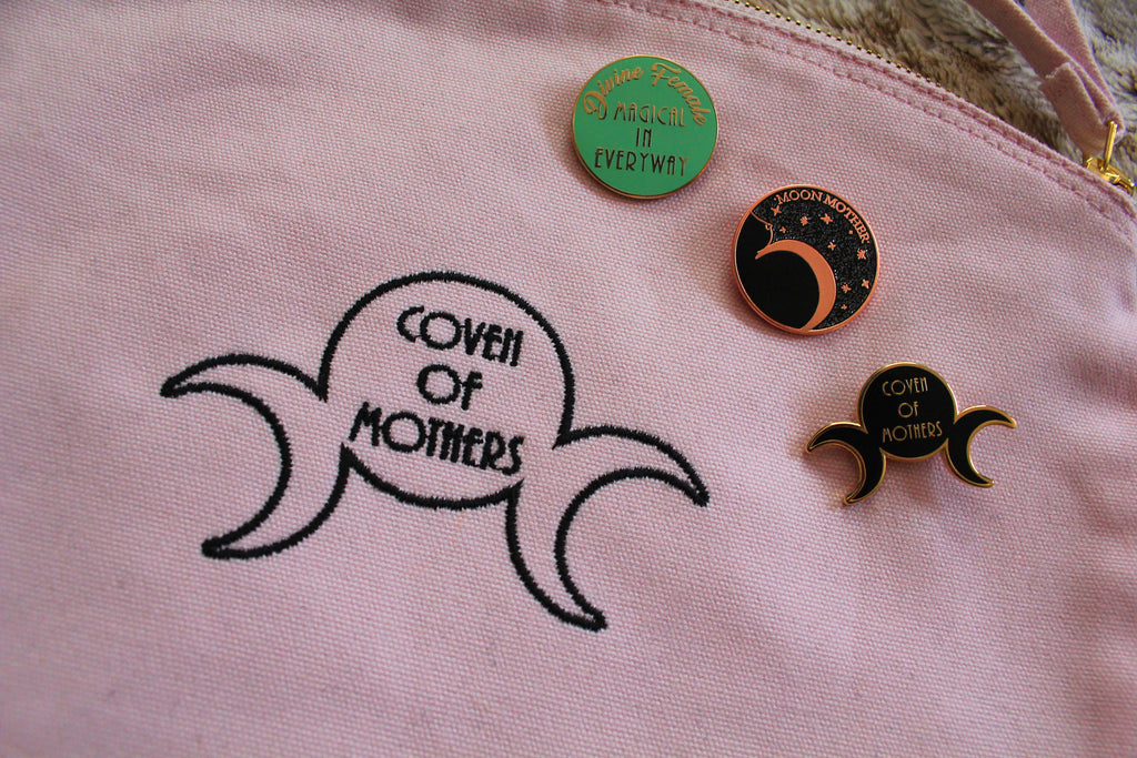 Divine Female Pin - Coven of Mothers Collection