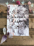 Woman Rising Print - Magical Woman Empowered Merch Mama Art A5 Indie Artist Feminist