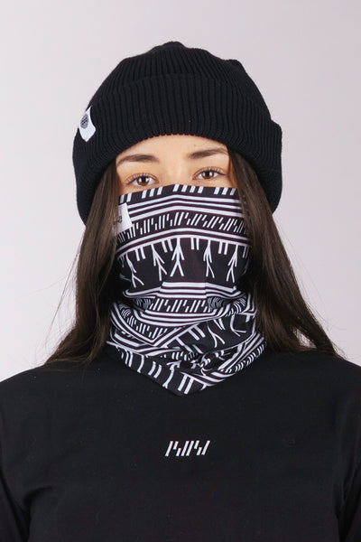 Black Tattoo Buff (unisex)