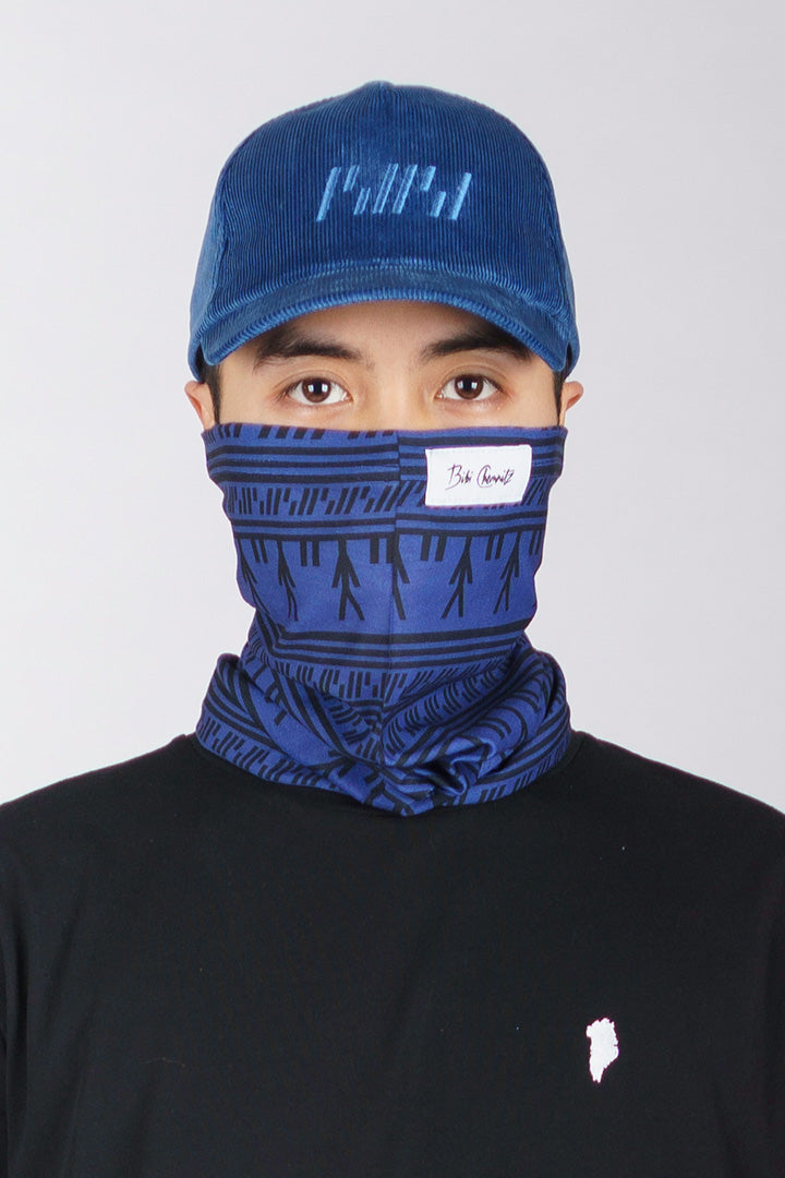 Blue Tattoo Buff (unisex)