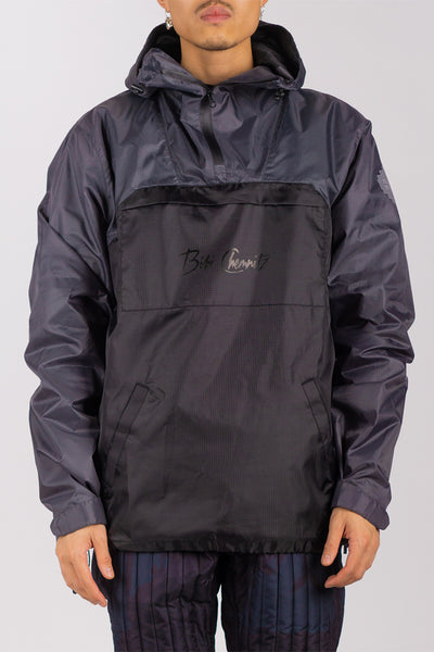 Dark Chrome Ripstop Anorak (unisex)