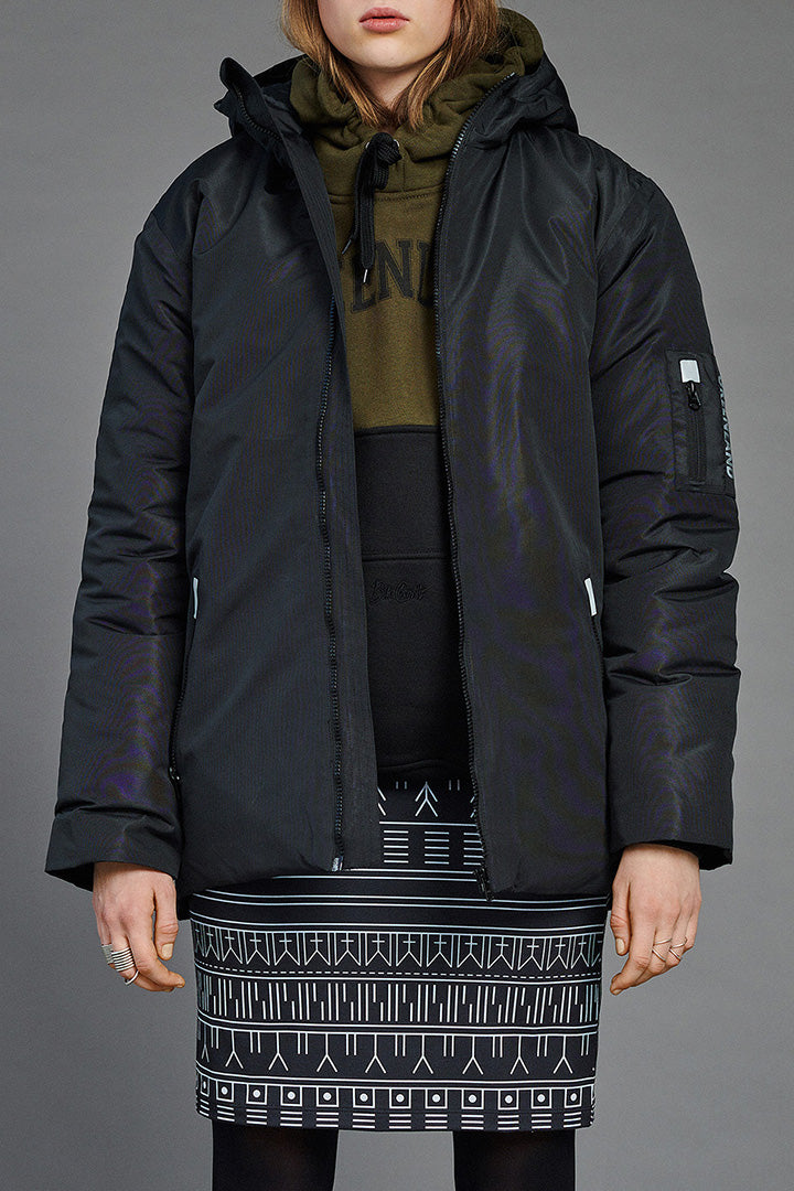 Dark Taslan Winter Jacket