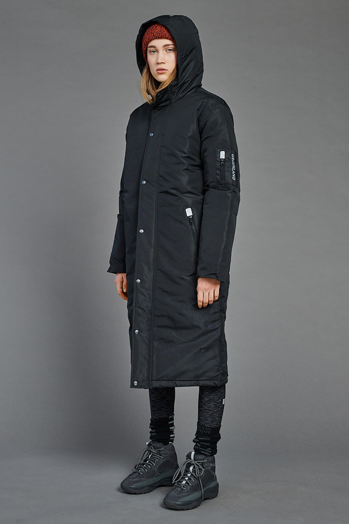 Extra Long Taslan Winter Jacket