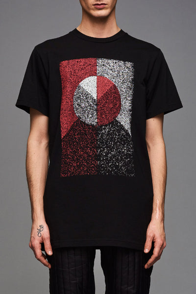 Black Flag Mosaik T-shirt (UNISEX)