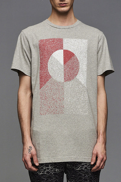 Grey Flag Mosaik T-shirt (UNISEX)