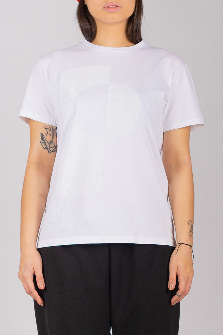 White/White Flag T-shirt (UNISEX)