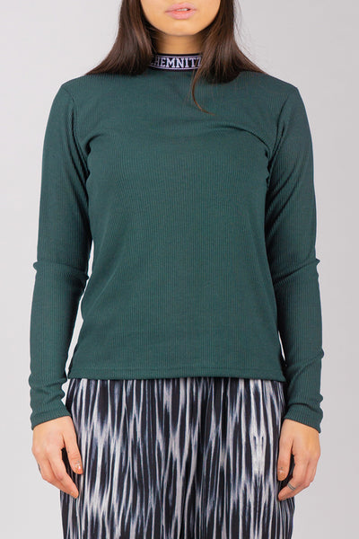 BIBI Rib Turtleneck (Green)