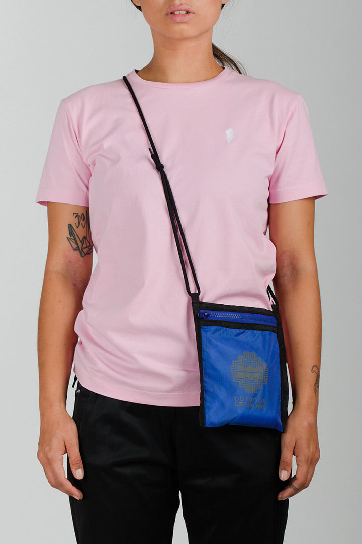 Pink Greenland Embroidery T-shirt (unisex)