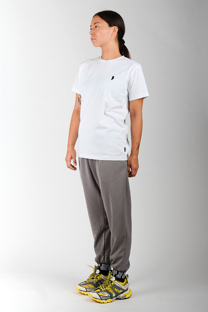 White Greenland Embroidery T-shirt (unisex)