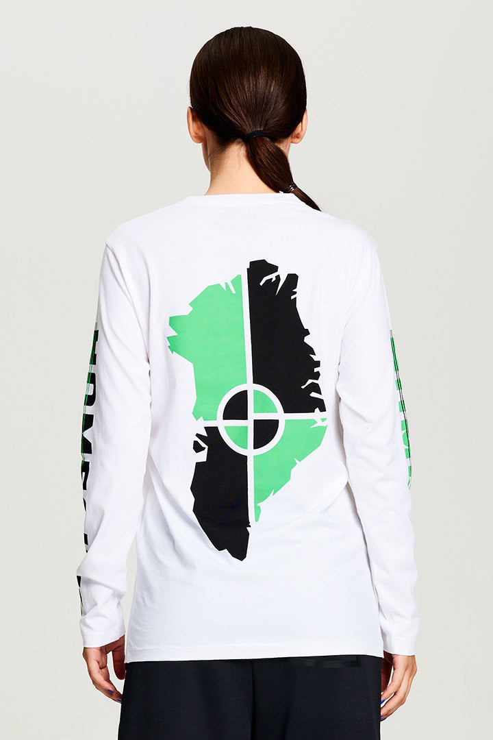 BIBI CHEMNITZ white long sleeved Homesick t-shirt