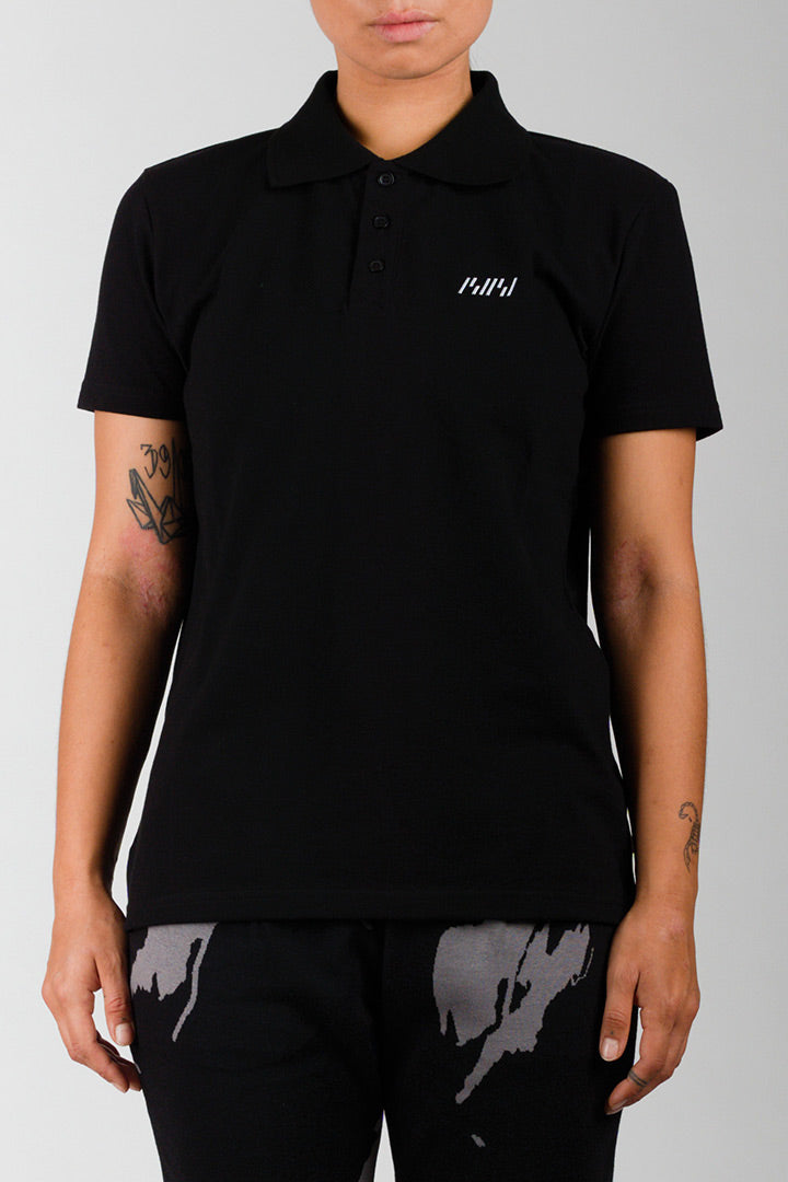 Black BIBI Polo Shirt (unisex)