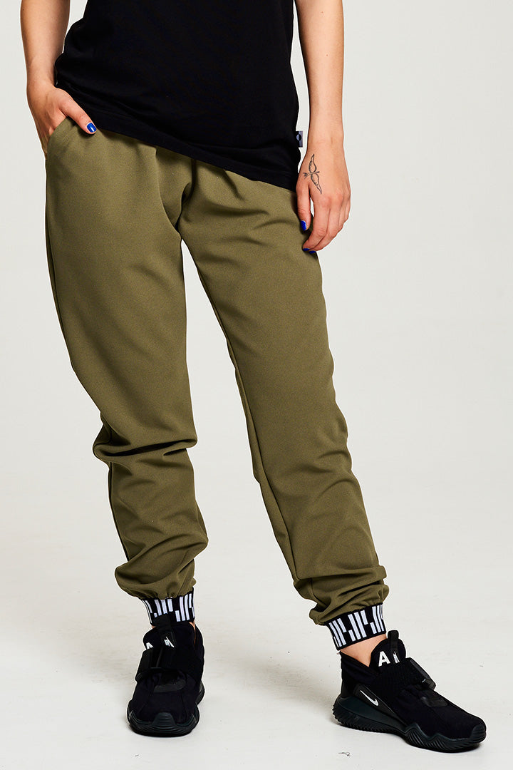 Light Loose Green Pants