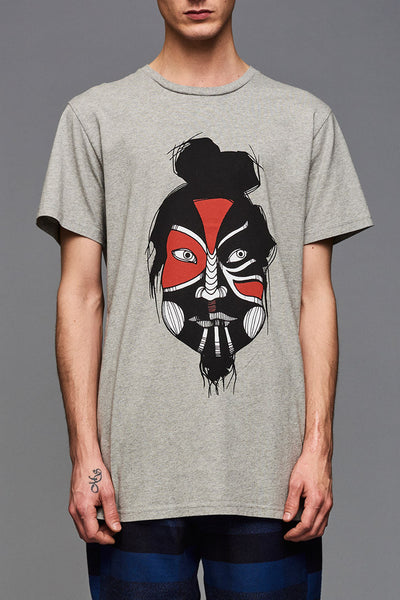 Grey Mask Dance T-shirt (UNISEX)