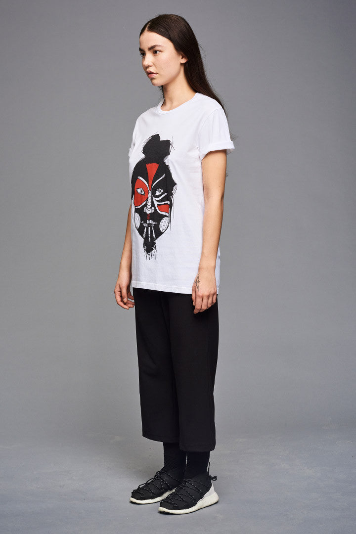 White Mask Dance T-shirt (UNISEX)