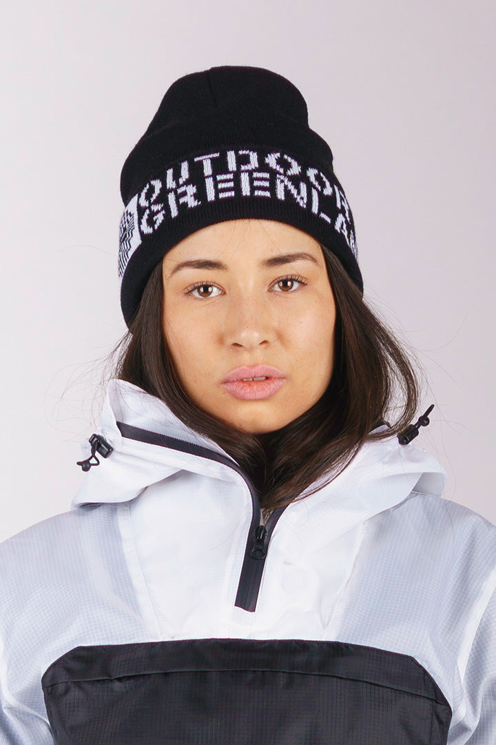 Black Outdoor Greenland Beanie (unisex)
