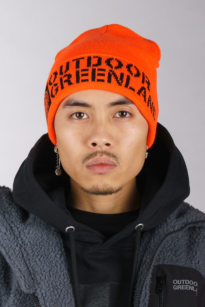 Orange Outdoor Greenland Beanie (unisex)