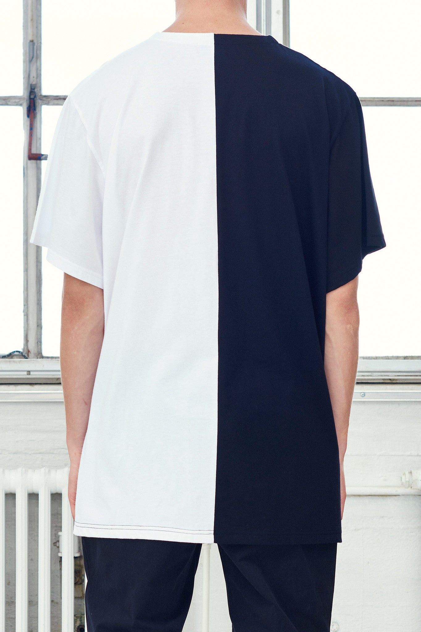 Over-size Full Flag T-shirt (m)