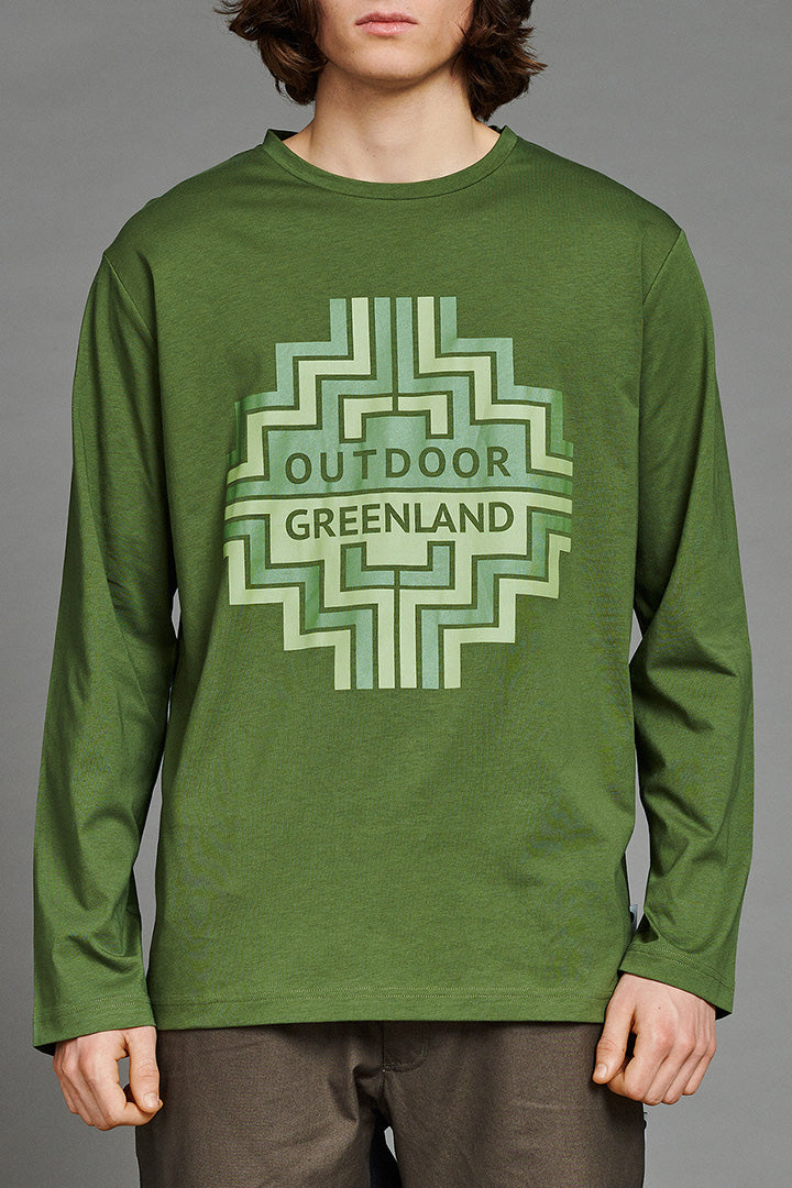 Green Outdoor Greenland Longsleeve (unisex)