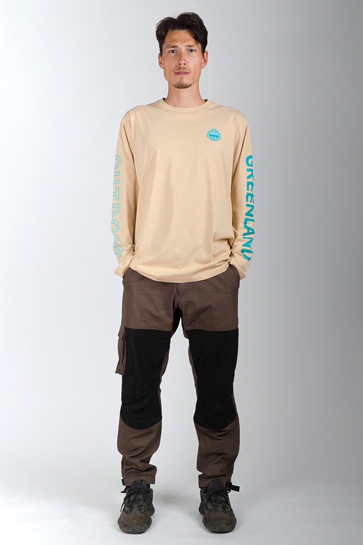 Sand Outdoor Greenland Longsleeve (unisex)