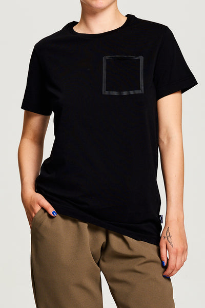 Pocket T-shirt Black (UNISEX)