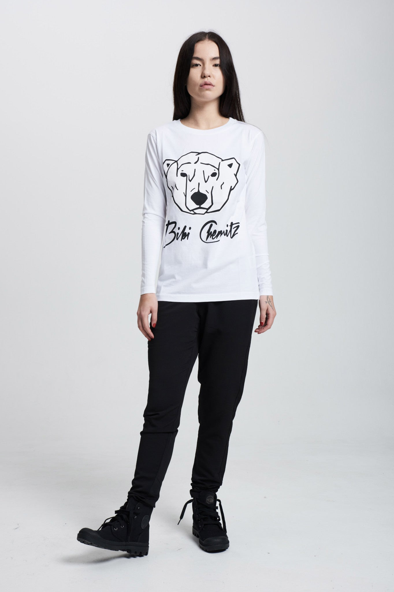 Polar Bear Long Sleeve (white)