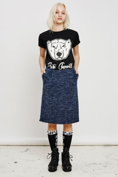 Polar Bear T-shirt (black)