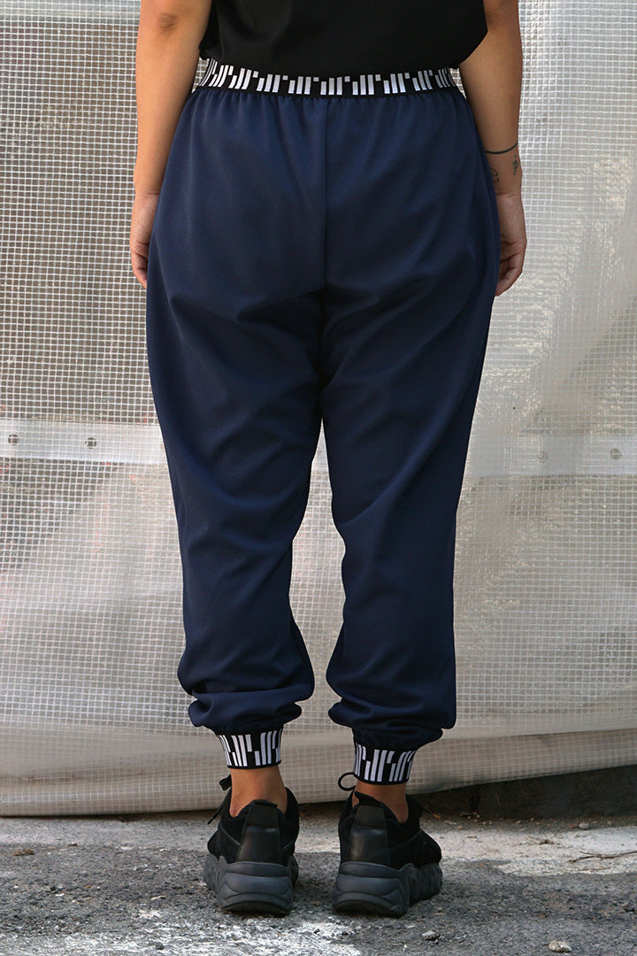 Loose Pants (Purple Blue)