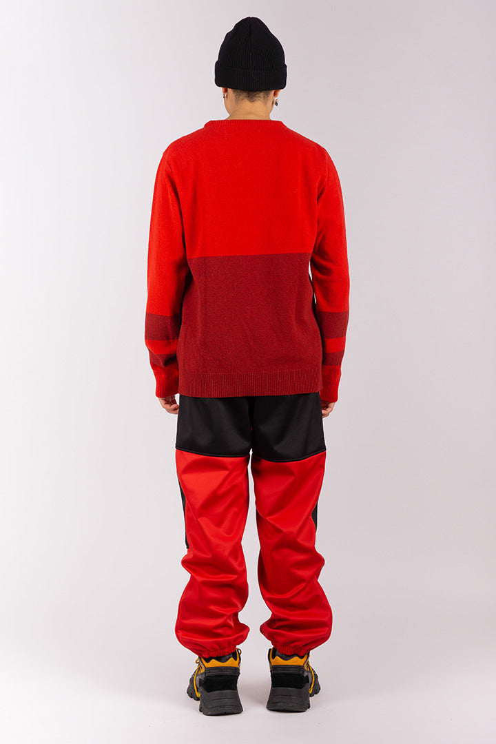 Lambs Wool Jumper Red (unisex)