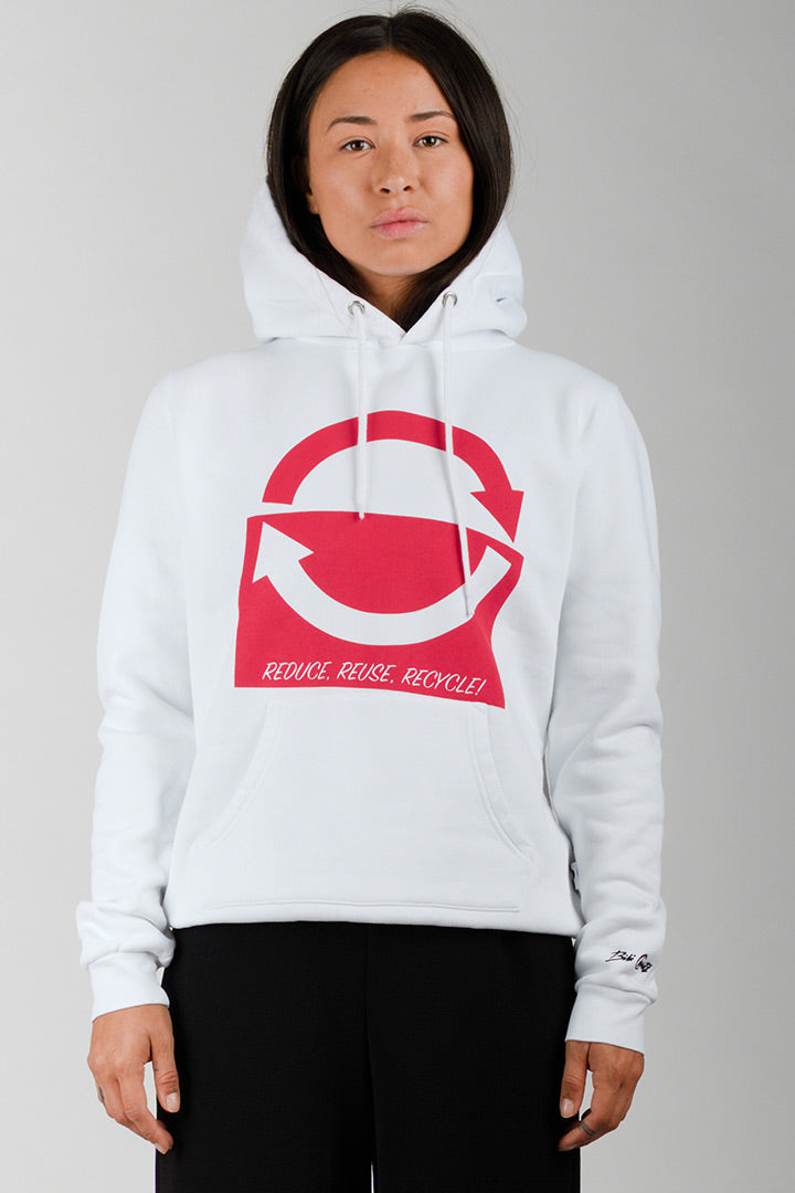 Reduce Hoodie in 100% eco cotton (unisex)